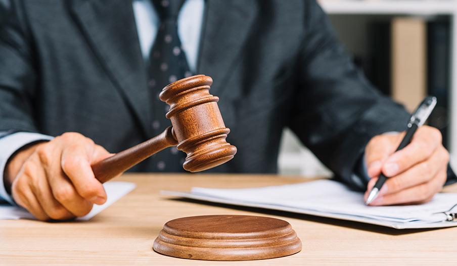 Olika arbetsområden för en advokat